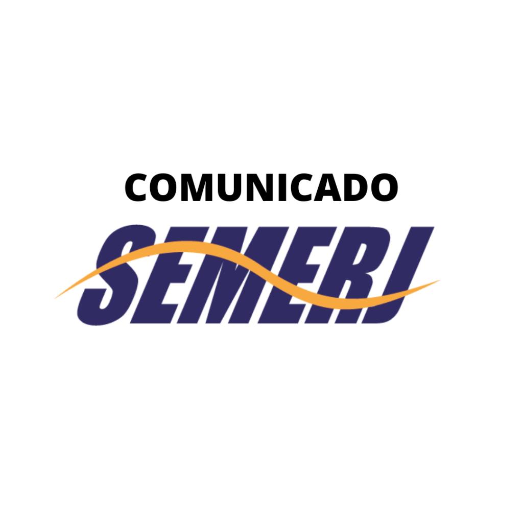 COMUNICADO SEMERJ